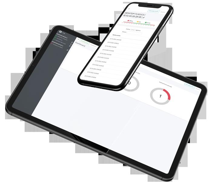 monitorización de empleados en varios dispositivos